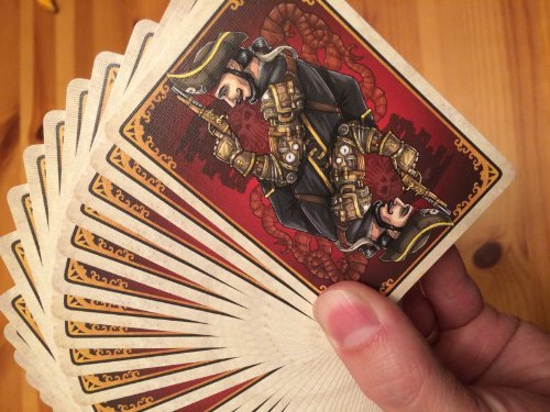 Bicycle Steampunk Pirates Playing Cards 4