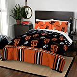 The Northwest Company MLB San Francisco Giants Queen Bed in a Bag Complete Bedding Set #393383534