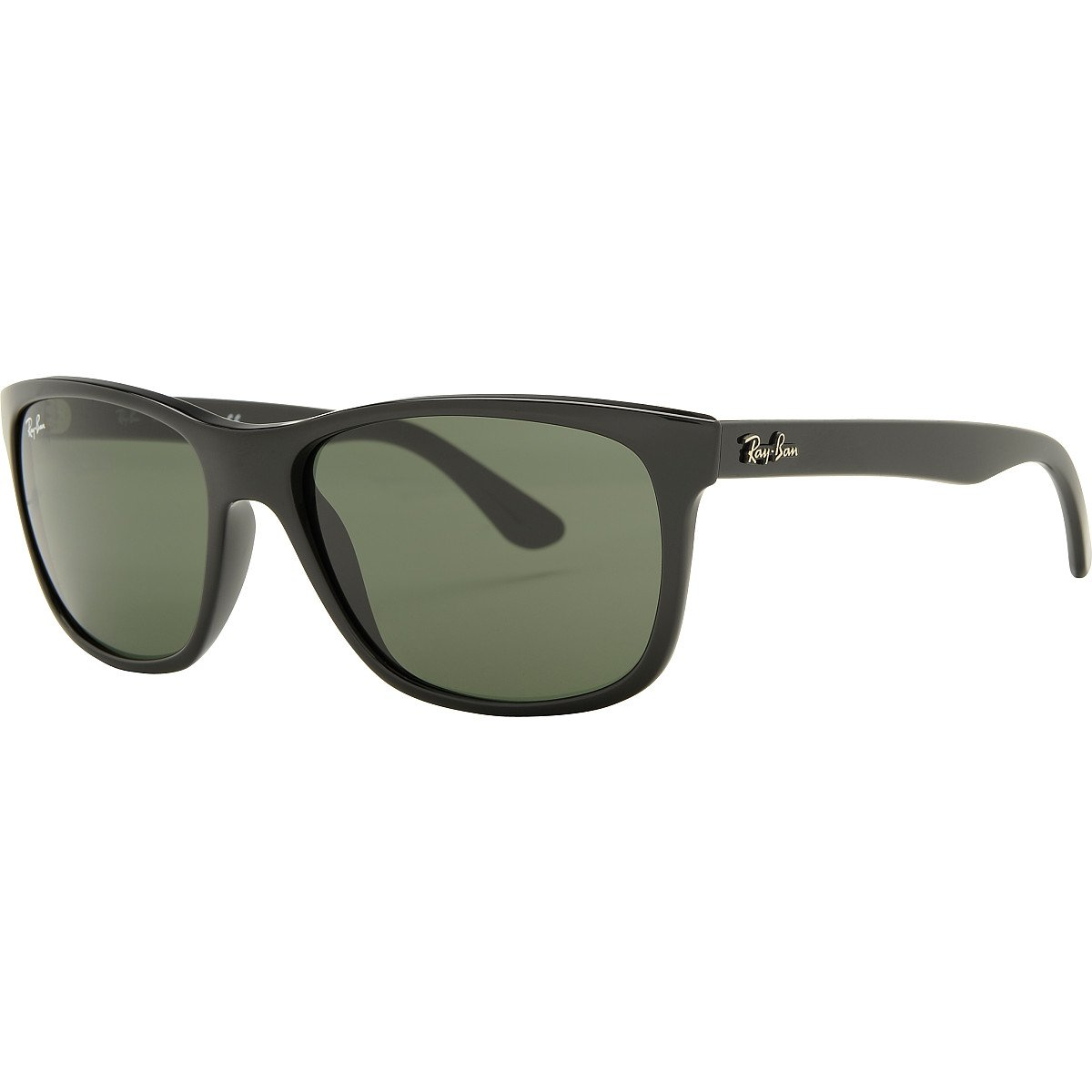 ebdf72b4ef Amazon.com  Ray-Ban 4181 601 Black 4181 Wayfarer Sunglasses Lens Category 3   Shoes
