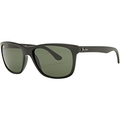17db13d4a0 Amazon.com  Ray-Ban 4181 601 Black 4181 Wayfarer Sunglasses Lens Category  3  Shoes