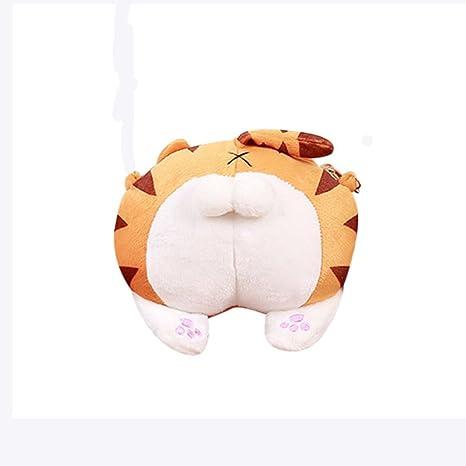 subfa Mily Cute Gato Butt Tail Peluche Bolso Crossbody ...