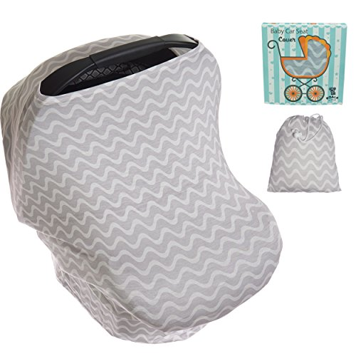 Koala Little Stretchy 4 in 1 Car Seat Canopy Nursing Breastf