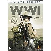 WWI The First Modern War History Channel 6 DVD Box Set PAL Region 0