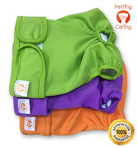 Washable Diapers Reusable PETTING CARING product image