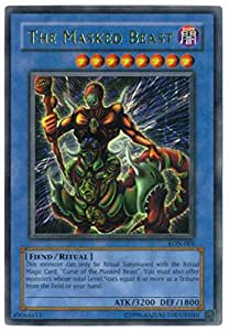Yu-Gi-Oh! - The Masked Beast (LON-001) - Labyrinth of Nightmare - Unlimited Edition - Ultra Rare