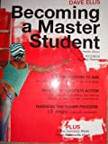 Becoming a Master Student: w/2010-2011 Monthly Planner, 13th edition,, Dave Ellis, 1111062250