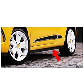 New 7010AK Genuine Citroen DS3 Standard R//H D//S Black Plastic Side Skirt
