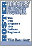 img - for Hoosiers' Honor Roster by William Thomas Venner (1999-05-03) book / textbook / text book