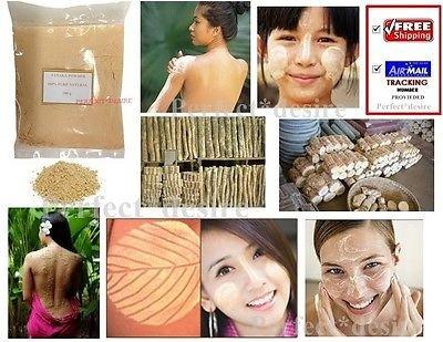 10 Bag X 100g Pure Thanaka Tanaka Natural Powder Anti Acne Aging Whitening Hair Removal. by Thanaka (Image #2)