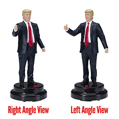 Donald Trump Talking Figure, Says 17 Different Audio Lines In President Trump's Own Voice by Hillary Laughing Pen (Image #7)