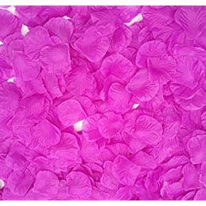 CODE FLORIST 2200 PCS Silk Flower Rose Petals for Wedding Decorations (Light Purple)