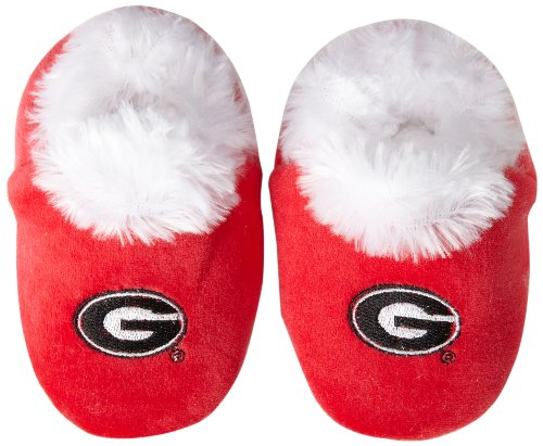 Georgia Logo Baby Bootie Slipper Medium