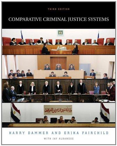 Comparative Criminal Justice - Tax Service Erika's