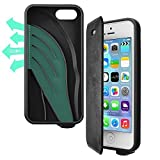 vaas mobile - Vaas Boost Protective Case + Cover w/ Sound Amplifying for Apple iPhone 5 / 5S / SE - Black (Retail Packaging)