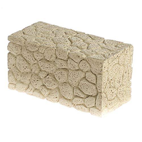 Factory Direct Craft Miniature Faux Rock Garden Wall 3 Pieces