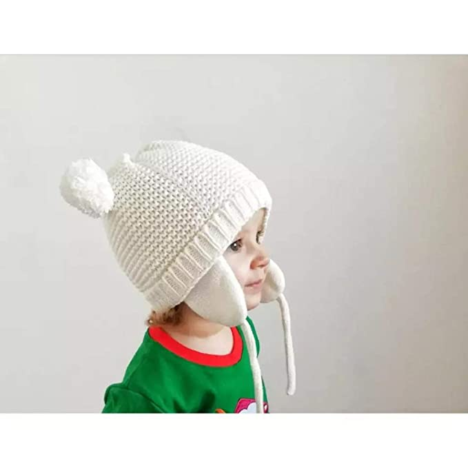 3b1e130b710 Image Unavailable. Image not available for. Color  Ryulife Baby Hat 6 to 18  Month Girls Boys Infant ...