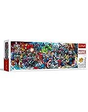 Trefl Marvel Avengers 29047, 1000 stukjes, panorama, premium kwaliteit, voor volwassenen en kinderen vanaf 12 jaar puzzel, gekleurd