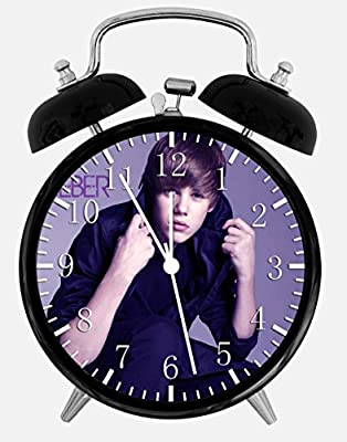 "Justin Bieber Alarm Desk Clock 3.75"" Room Decor W141 will Be a Nice Gift"