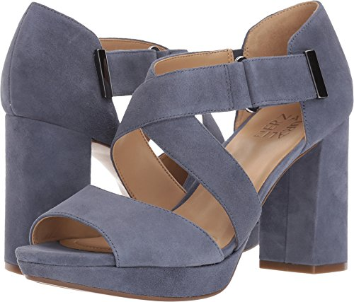 Naturalizer Women's Harper Paris Blue Suede 9 M US (Naturalizer Shoes Suede)