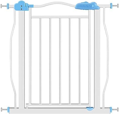 Puerta De Bebé Bebé puerta del niño barandilla valla escalera barandilla valla metal perro mascota valla barandilla bebé aislamiento puerta perro mascota puerta de aislamiento 75-103 cm: Amazon.es: Hogar