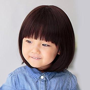 Amazon Com Korean Children Baby Girls Hair Accessories Wig Students
