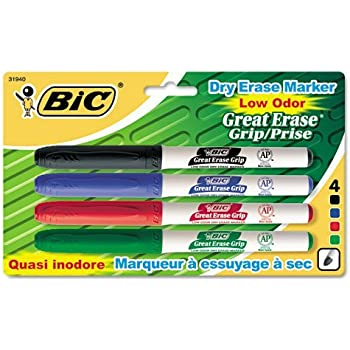 Amazon.com : BIC Magic Marker Dry-Erase Markers, Pocket