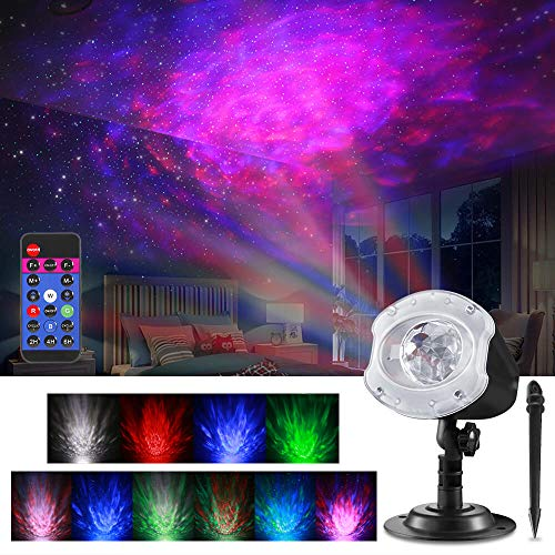 ALOVECO LED Laser Christmas Projector Lights