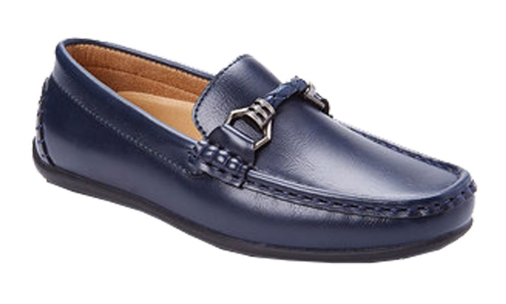 Franco Vanucci Youth Boy's Slip On Dress Loafers