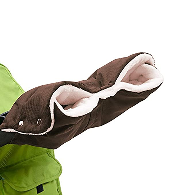 ByBoom® Handmuff Radanhänger Buggy Universalgröße passend für Kinderwagen
