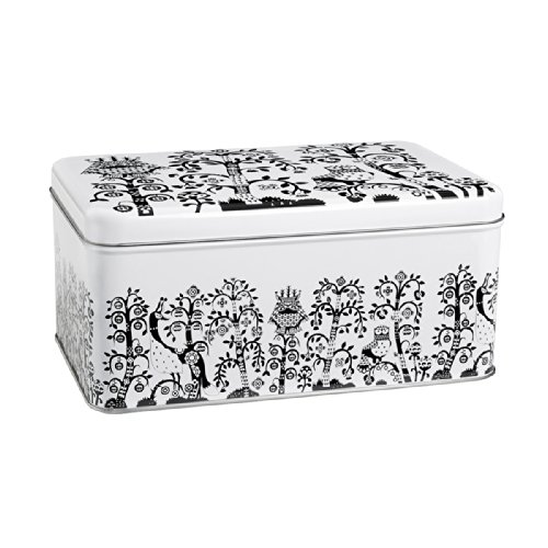 - Iittala Taika Black Metal Box 280cm By 178cm By 130mm