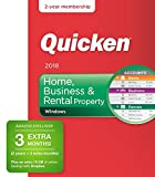 Quicken Home, Business & Rental Property 2018 Release – [Amazon Exclusive] 27-Month Personal Finance & Budgeting Membership