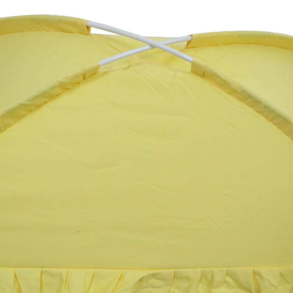 PER Baby Mosquito Net Tent Zipper Door Canopy Bed Crib Playmat