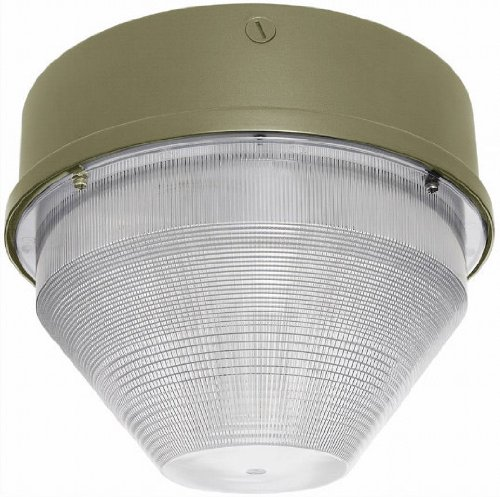 RAB VANGF42QT Van Garage 15 Round 1 X 42W CFL Qt + Lamp, Bronze Color by RAB B005V36C4E
