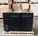 48'' Keg Beer Dispenser w/ Stainless Steel Top UDD-24-48 Kegerator Refrigerator