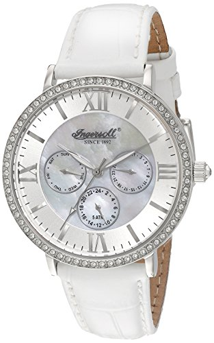 Ingersoll Women's INQ 034 SLSL Regency Analog Display Japanese Quartz White Watch