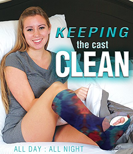Regular Leg Cast Cover - Tie Dye (Youth Large)