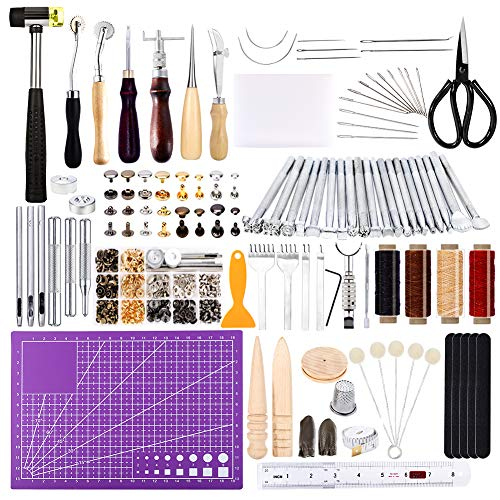 183Pcs Leather kitLeathercraft Working