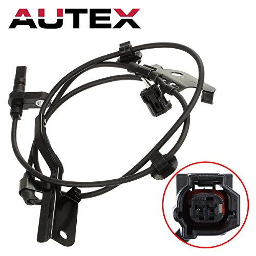 AUTEX Front Left ABS Wheel Speed Sensor 89543-42050 ALS2320 5S8698 SU10160 compatible with Toyota RAV4 2006 2007 2008 2009 2010 2011 2012 2013 2014 2015 2016 2017 2018