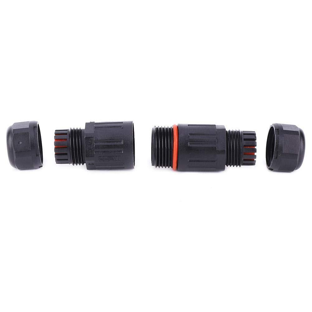 Fil /électrique /étanche connecteur de c/âble ext/érieur pour bo/îte de jonction /étanche 10PCS IP68 Connecteur de c/âble /électrique /étanche pour connecteur 3 broches prise de courant ext/érieure