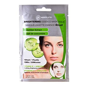 A! Absolute Brightening Essence Mask - Cucumber Clinique - Smart Night Custom-Repair Moisturizer (Very Dry To Dry) - 50ml/1.7oz
