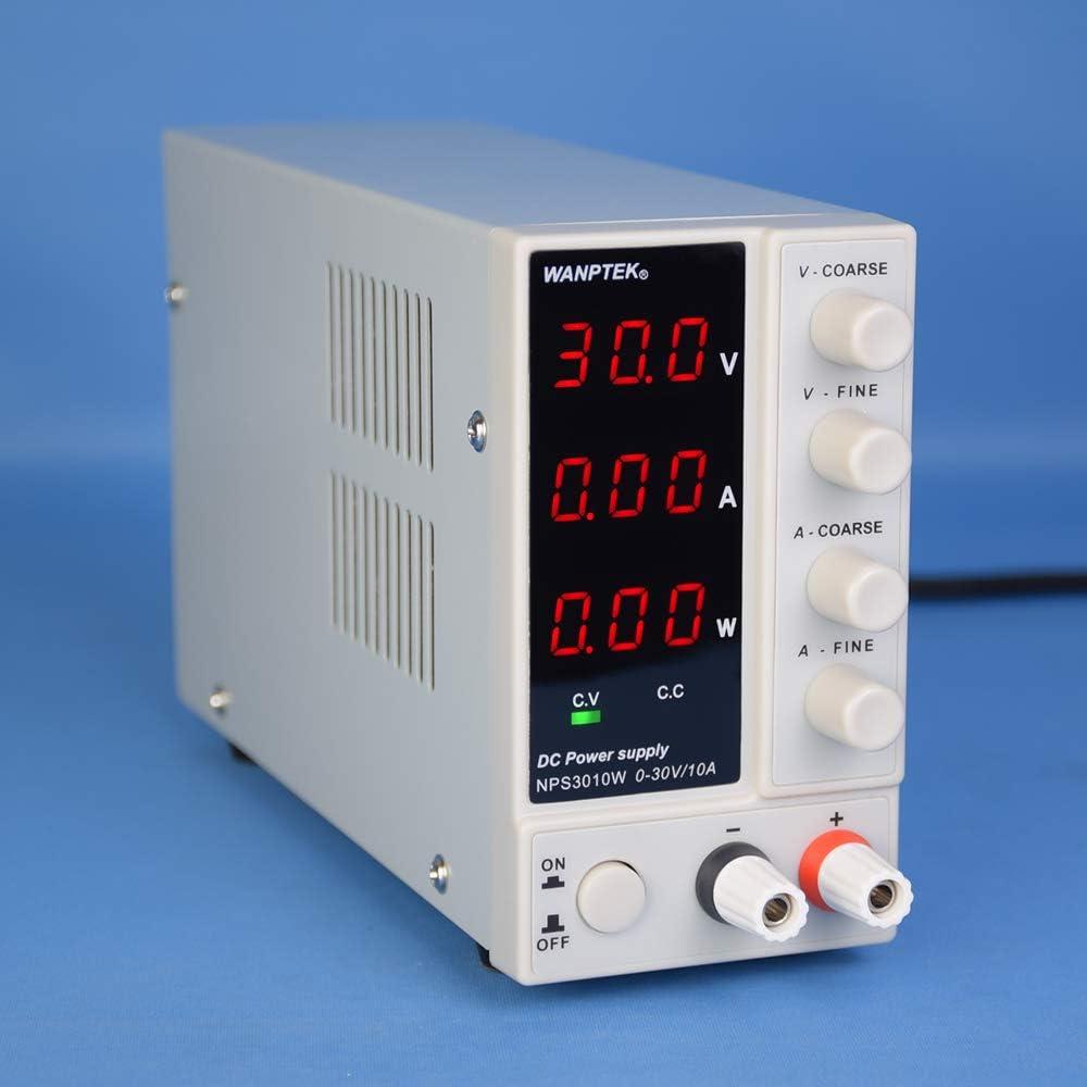 Minleaf NPS3010W Variable Digital Adjustable DC Power Supply 0-30V 0-10A   ˇ