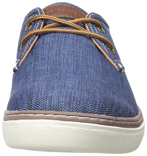 Grey Skechers Gadon Fit Mens blu Palen Relaxed Shoes w7qSwBZ