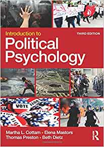 martha cottams introduction to political psychology analysis essay We will write a custom essay sample on martha cottam's introduction to political psychology: analysis specifically for you for only $1638 $139/page.