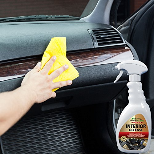kevianclean interior defense car dashboard cleaner uv protection spray vinyl upholstery. Black Bedroom Furniture Sets. Home Design Ideas