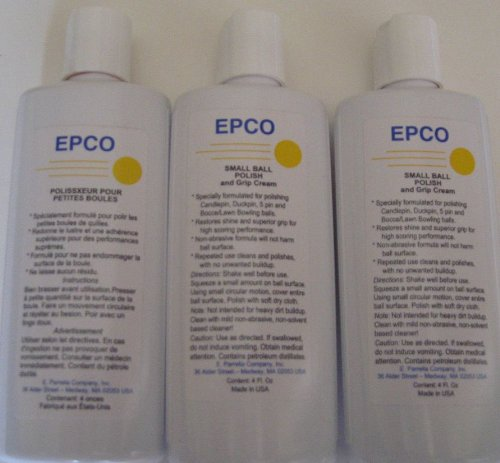 EPCO Bocce Ball Polish - pack of 3
