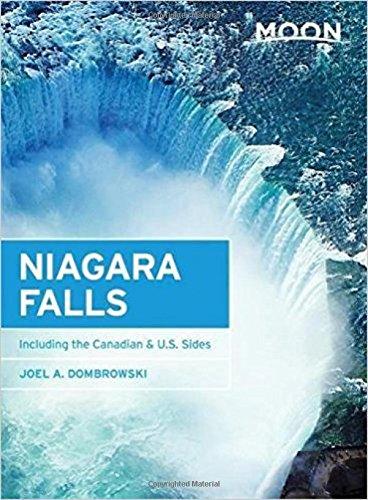 Moon Niagara Falls Including Canadian