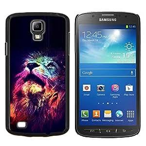 Eason Shop / Premium SLIM PC / Aliminium Casa Carcasa Funda Case Bandera Cover - Estrellas King Africa Noche Rosa Universo - For Samsung Galaxy S4 Active i9295