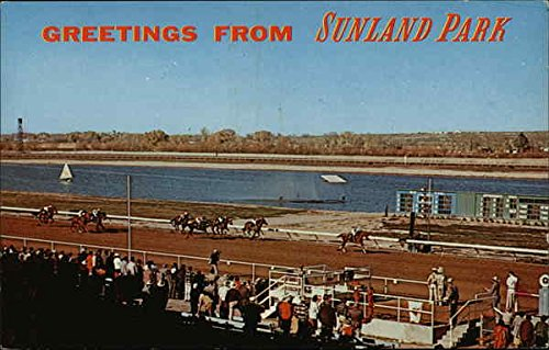 Sunland Park Racing Track and Resort El Paso, Texas Original Vintage - Sunland Park