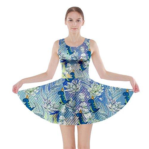 CowCow - Vestido - para mujer Aquamarine Floral