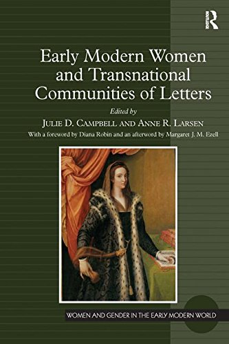 Early Modern Women and Transnational Communities of Letters (Women and Gender in the Early Modern World)